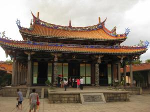 The main hall(?) of the Confucius Temple