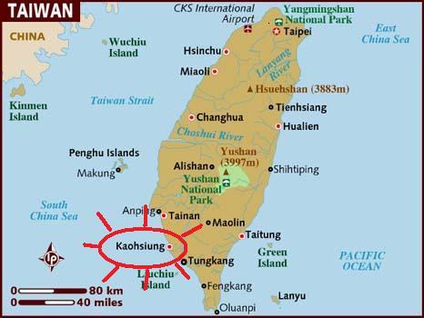 KHH map