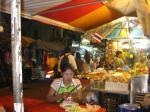 Bangkok food stand