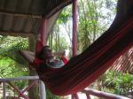 Railay 06 - Me in a hammock